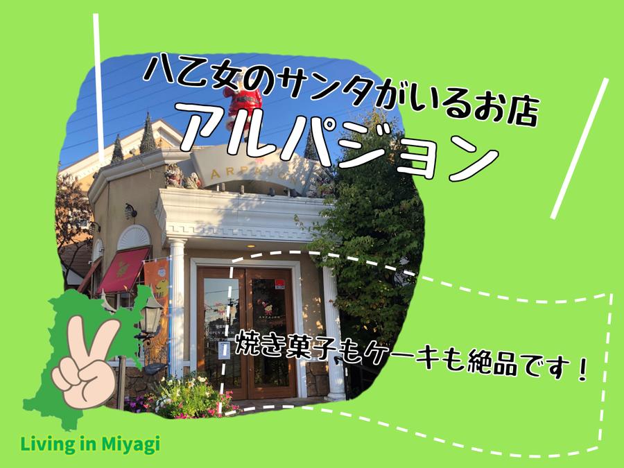 アルパジョン仙台泉八乙女店のボストン!しっとり大人味のケーキが絶品!